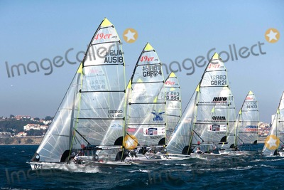 Paul Campbell, Pink Photo - : Cascais, Portugal - Cascais 2007 Day 4 - Isaf Sailing World Championships. in Picture: 49er Class -John Pink, Simon Wheeler, Paul Campbell James, Mark Asquith, Uk. Photo by Cityfiles-Globe Photos
