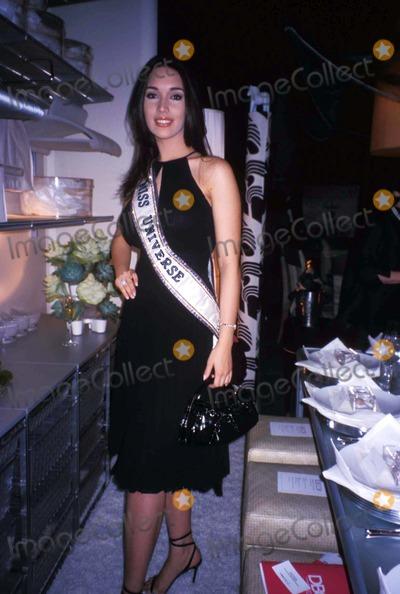 Amelia Vega, MISS UNIVERSE Photo - Elle Decor's Dining by Design Presented by Champagne Tattinger at the Hammerstein Ballroom, New York City 02/02/2004 Photo by Rose Hartman/Globe Photos Inc Amelia Vega (Miss Universe)
