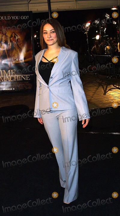 Rachel Roth Photo - Rachel Roth the Time Machine Premiere, Mann Village Theater, Westwood, CA March 4, 2002 Photo by Nina Prommer/Globe Photos Inc 2002