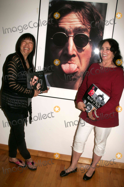"""May Pang, John Lennon, Ringo Starr, A-Ha Photo - MAY PANG, JOHN LENNON'S FORMER GIRLFRIEND A HAS  A BOOK PARTY TO PROMOTE HER BOOK, """"INSTAMATIC KARMA"""" ALONG WITH NANCY LEE ANDREWS (RINGO STARR'S FORMER GIRLFRIEND) TO PROMOTE HER NEWLY RELEASED BOOK, """" A DOSE OF ROCK """"N"""" ROLL"""" AT THE JUNE KELLY GALLERYSOHO    06-11-2008PHOTOS BY RICK MACKLER RANGEFINDER-GLOBE PHOTOS INC.2008MAY PANG AND  NANCY LEE ANDREWS NANCY LEE ANDREWS K58697RM"""