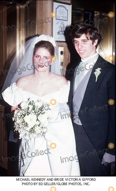 Kennedy Photo - Michael Kennedy and Bride Victoria Gifford Photo by Ed Geller/Globe Photos, Inc.
