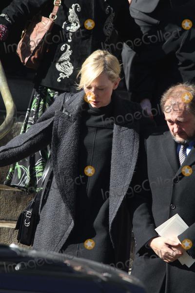 Andrew Upton, Cate Blanchett, Philip Seymour Hoffman, CATE BLANCHETTE Photo - Cate Blanchett,andrew Upton at Philip Seymour Hoffman's Funeral Mass at St.ignatius of Loyola Church on Park Ave 2-7-2014 John Barrett/Globe Photos