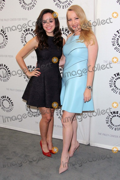 """Wendi McLendon Covey, Wendi McLendon-Covey, Wendy McLendon-Covey, Hayley Orrantia Photo - Wendi Mclendon-covey, Hayley Orrantia Attend the Paley Center For Media Presentation of the Goldbergs: Your Tv Trip to the 1980s"""" at the Paley Center For Media on April 28th, 2014 Beverly Hills ,california,usa.photo:tleopold/ /Globephotos"""