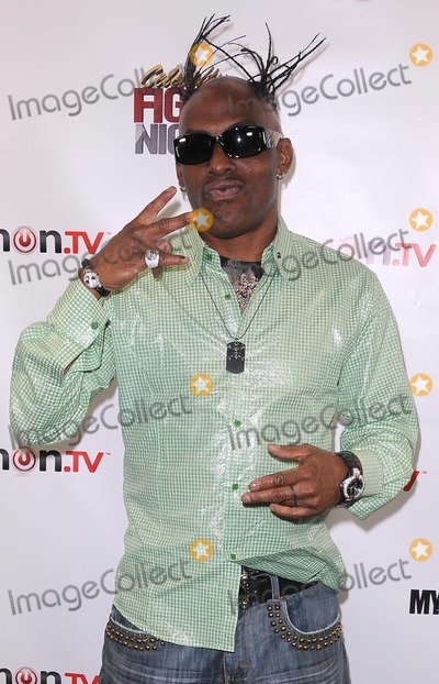 "Coolio Photo - Press Conference For ""Celebrity Fight Night"" at 9021go Showroom in Beverly Hills, CA 9/26/11 Photo by Scott Kirkland-Globe Photos   2011 Coolio"