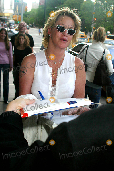 Melanie Griffith, Melanie Griffiths Photo - Celebrities Arriving in Midtown , New York City 05/16/2004 Photo by Rick Mackler/rangefinder/Globe Photos,inc. Melanie Griffith