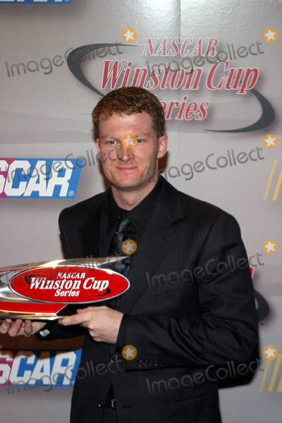 Dale Earnhardt, Dale Earnhardt Jr., Dale Earnhardt, Jr. Photo - the 2003 Nascar Winston Cup Series Awards Ceremony at the Waldorf Astoria Hotel in New York City 12/05/2003 Photo by Rick Mackler/rangefinder/Globe Photos, Inc. 2003 Dale Earnhardt Jr