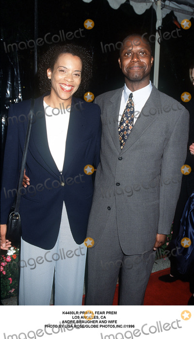 Andre Braugher Photo - :primal Fear Prem Los Angeles, CA Andre Braugher and Wife Photo by Lisa Rose/Globe Photos,inc.