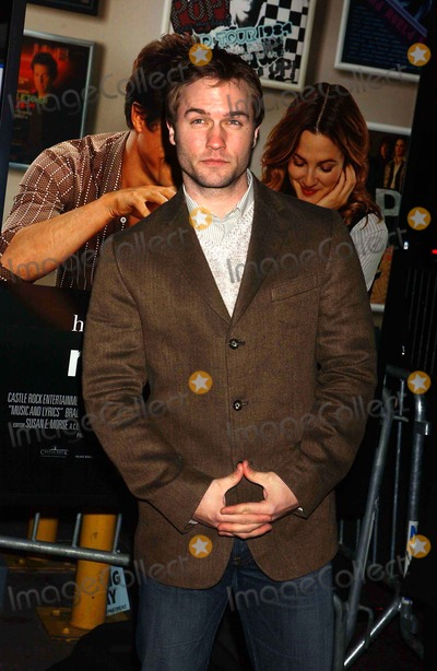 Scott Porter, Lyric Photo - Premiere of Music and Lyrics at the Ziegfeld Theater in New York City on 02-12-2007 Photo by Ken Babolcsay-ipol-Globe Photos Scott Porter