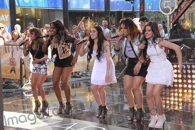 Hanson, Fifth Harmony, Lauren Jauregui, Camila Cabello, Normani Hamilton, Alle Brooke Photo - ''Fifth Harmony ''Ltor All Brooke,normani Hamilton,dinah Hanson,lauren Jauregui,camila Cabello Performing on NBC ''Today Show''7-18-2013 Photo by John Barrett/Globe Photos