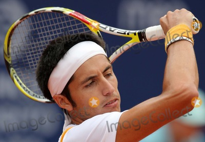 Photo - Estoril Tennis Open 2009 - Men's Singles in Estoril , Portugal 05-08-2009paul Capdeville (Chi). Photo: Octavio Passos-cityfiles-Globe Phtos, Inc.
