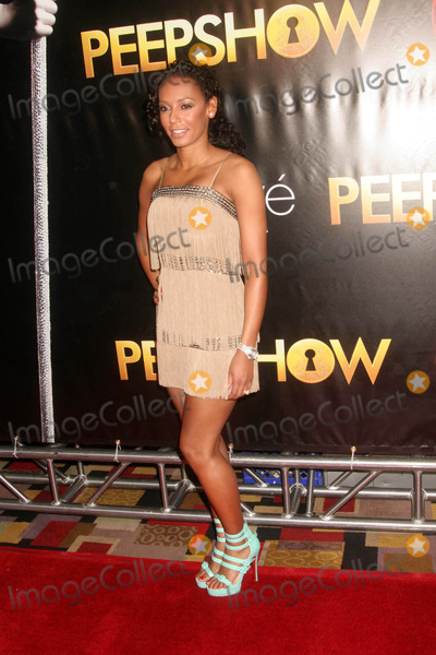 "Mel B, Mel B., Kelly Monaco, Melanie Brown Photo - the Opening of ""Peepshow"" Starring Kelly Monaco and Mel B. (Melanie Brown) at Planet Hollywood Resort and Casino, Las Vegas NV 04-18-2009 Photo by Ed Geller-Globe Photos Mel B. (Melanie Brown)"