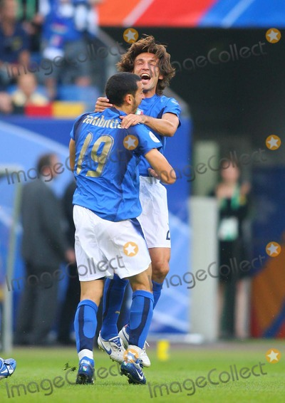Andrea Pirlo Photo - Italy V Ukraine Aol Arena, Hamburg, Germany 06-30-2006 Photo by Stewart Kendall-allstar-Globe Photos, Inc. 2006 Ginaluca Zambrotta & Andrea Pirlo