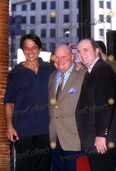 "Don Rickles, Bob Newhart, Tony Danza Photo - Don Rickles with Tony Danza and Bob Newhart ""Don Rickles Honored with Hollywood Star"" 10-17-2000 Photo by Fitzroy Barrett-Globe Photos, Inc."
