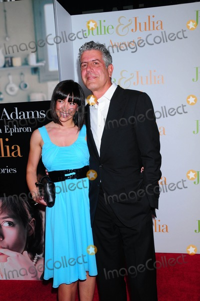 """Patrick Martin, Anthony Bourdain, ANDRE COINTREAU Photo - at the Premiere of """"Julie & Julia"""" at the Ziegfeld Theater in New York City on 07-30-2009 Photo by Ken Babolcsay-ipol-Globe Photos, Inc. Anthony Bourdain"""