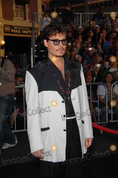 Johnny Depp, Walt Disney Photo - Johnny Depp During the Premiere of the New Movie From Walt Disney Pictures Pirates of the Caribbean: on Stranger Tides, Held at Disneyland, on May 7, 2011, in Anaheim, california.
