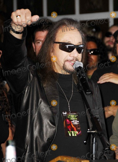 "Ace Frehley, Darrell Abbott, Dimebag Darrell, Dimebag Darrell Abbott, ""Dimebag"" Darrell, ""Dimebag"" Darrell Abbott Photo - Ace Frehley During the Posthumous Induction of Guitarist Dimebag Darrell Abbott Into Hollywood's Rockwalk, on May 17, 2007, in Los Angeles. Photo by Michael Germana-Globe Photos,inc."