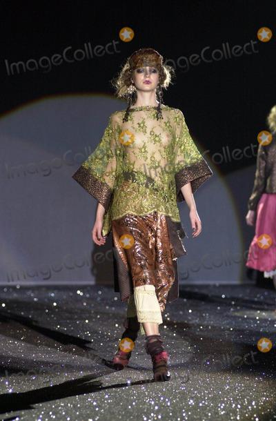 Antonio Marras Photo - Angela Caterisano/lapresse/Globe Photos Inc K35861 Milano 02/28/2004 Moda Donna Autunno Inverno 2005 Sfilata Antonio Marras