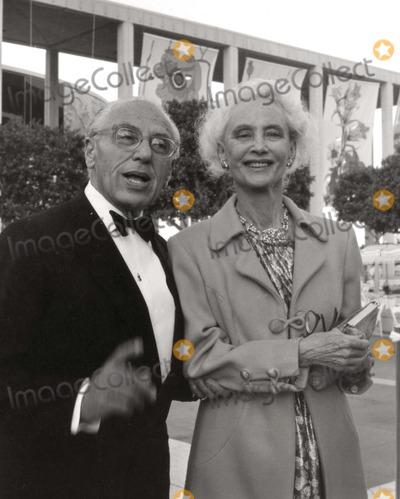 George Cukor Photo - George Cukor and Frances Goldwyn Photo: Nate Cutler/Globe Photos Inc