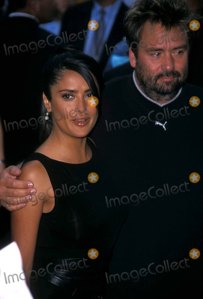 Salma Hayek, John B Photo - Once Upon a Time in Mexico Premiere at the Loews Lincoln Square, New York City 09/07/2003 Photo: John B Zissel/ Ipol/Globe Photos Inc. 2003 Salma Hayek