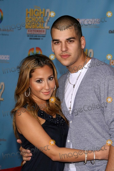"Adrienne Bailon, Robert Kardashian Photo - ""High School Musical 2"" Dvd Premiere El Capitan Theatre, Hollywood, CA 11/19/07 Robert Kardashian and Adrienne Bailon Photo: Clinton H. Wallace-photomundo-Globe Photos Inc"