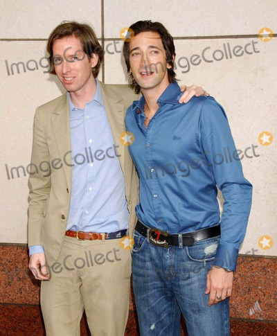"Adrien Brody Photo - New York Film Festival Press Conference. For ""Darjeeling Limited"". Walter Reade Theater, NYC. 09-27-2007 Photo by Ken Babolcsay-ipol-Globe Photos, Inc. 2007 Adrien Brody"