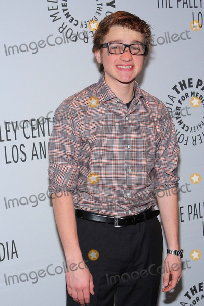 """Angus T Jones, Angus T. Jones Photo - Angus T. Jones the Paleyfest 2012 Presents """"Two and a Half Men"""" Held at the Saban Theatre, Beverly Hills,ca. March 12 - 2012.photo: Tleopold/Globephotos"""