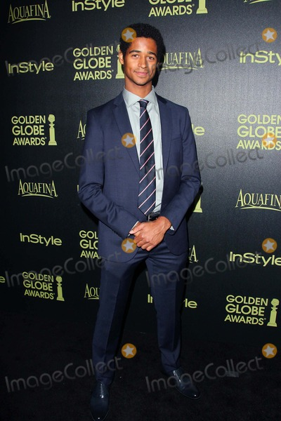 Alfred Enoch Photo - Alfred Enoch attends Hfpa/style - Miss Golden Globe Announcement Party 20th November 2014 at the Fig & Olive Melrose Place,west Hollywood California.usa.photo: Tleopold/ Globephotos