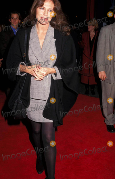 """Jacqueline Bisset, Jackie Bisset Photo - -24-1996 """"Screamers """" Premiere at the Chinese ( Jacqueline ) Jackie Bisset Photo By:doughton-michelson-Globe Photos, Inc"""