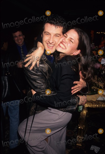 Anthony Clark Photo - Hedy Burress with Anthony Clark NBC Press Tour Party 1997 Photo by Lisa Rose-Globe Photos, Inc.
