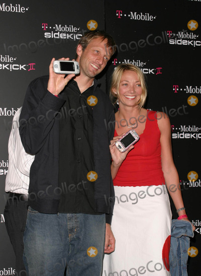Photos and Pictures - Tony Hawk and Wife - T-mobile Sidekick Ii