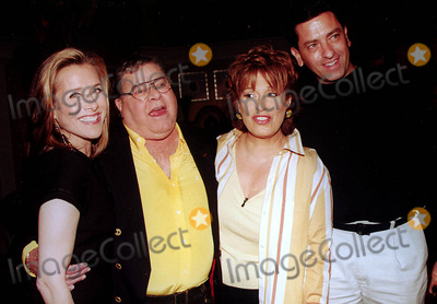 Jerry Lewis, Joy Behar, Meredith Vieira, The View, Anthony Lewis Photo - Abc's the View Post Taping at the Abc Studios, New York City 06/04/2003 Photo: Barry Talesnick/ipol/Globe Photos Inc. 2003 Joy Behar, Anthony Lewis,jerry Lewis and Meredith Vieira