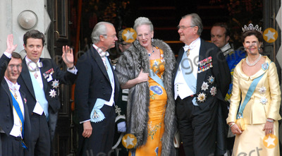 Prince, Prince Frederik, Prince Joachim of Denmark, Queen, Queen Silvia, Queen Silvia of Sweden, Silvia of Sweden Photo - K52991State Banquet-Swedish State Visit-Malmo Town Hall, Copenhagen, Denmark. 05-11-2007Photo By Ricardo Ramirez-Richfoto-Globe Photos, inc.SWEDISH ROYAL FAMILY AND DANISH ROYAL FAMILYPRINCE FREDERIK, QUEEN MARGRETHE, PRINCE JOACHIM OF DENMARK . KING CARL GUSTAV AND QUEEN SILVIA OF SWEDEN