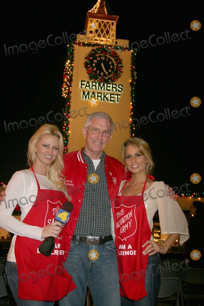 Aubrie Lemon, Fritz Coleman, Johnny Grant, Patricia Kara Photo - Johnny Grant Honored at the Salvation Army's Annual Kettle Kick Off the Original Farmers Market, Los Angeles, CA 11/19/07 Aubrie Lemon, Fritz Coleman and Patricia Kara Photo: Clinton H. Wallace-photomundo-Globe Photos Inc