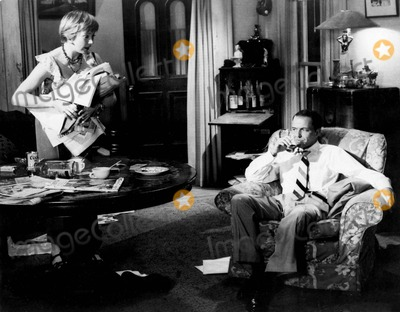 "Frank Sinatra, Shirley Maclaine, Tv-film Still, Tv-film Stills Photo - Frank Sinatra with Shirley Maclaine in ""Some Came Running"" Supplied by Smp-Globe Photos, Inc. Tv-film Still"