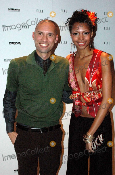 """Andrae Gonzalo Photo - Elle Project Hosts Viewing Party For 2nd Season Premiere of Bravo's """"Project Runway"""" and Launch of Project Runway Magazine. Aer, New York City 12-07-2005 Photo by Ken Rumments-Globe Photos 2005 Andrae Gonzalo Danyelle Vilmeney"""
