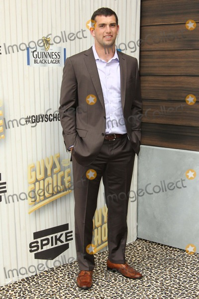 Andrew Luck Photo - Andrew Luck attends Spike Tv's Guy Choice 2013 on June 8th, 2013 at Sony Pictures Studios,culver City,ca.usa. Photo: Tleopold/Globephotos