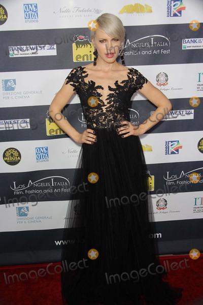 TLC, Aria Crescendo Photo - Aria Crescendo attends 9th Annual Los Angeles Italia - Film and Art Festival at the Tlc Chinese 6 Theatres on February 23rd, 2014 Hollywood California,usa. Photo:tleopold/Globephotos