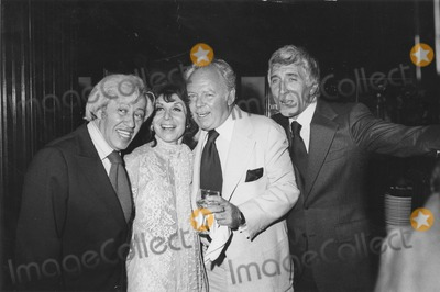 Adolph Green, Betty Comden, Carroll O'Connor, Patrick O'Neal Photo - Adolph Green, Betty Comden, Carroll O'connor and Patrick O'neal. Bob Noble/Globe Photos, Inc. Obit