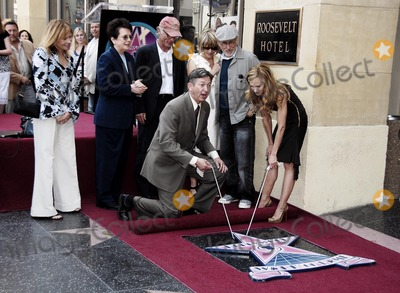 Holly Hunter, Amy Madigan, Billie Jean King, Kate Capshaw, Steven Spielberg, Billy Jean King, Hollies Photo - Holly Hunter Receives Star on Hollywood Walk of Fame, Los Angeles, CA 05-30-2008 Photo by Lemonde Goodloe-Globe Photos, Inc2008 Amy Madigan, Billie Jean King, Kate Capshaw, Steven Spielberg, Holly Hunter
