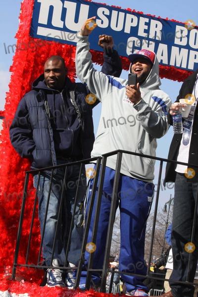 Ahmad Bradshaw Photo - Ahmad Bradshaw at NY Giants Super Bow Champions Ticker -Tape Parade Lower NY March Up Broadway to City Hall 2-7-2012 Photo by John Barrett/Globe Photos, Inc.