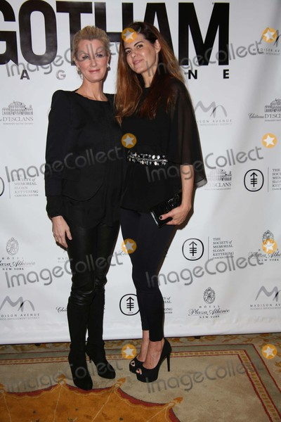 Anne Fontaine, Sandra Lee Photo - Sandra Lee and Anne Fontaine Attend the Ribbon Cutting For Gotham Magazine Breakfast Celebrating Cover Star and Miracle on Madison Ambassador Sandra Lee Arabelle Restaurant, Plaza Athenee Hotel, NYC December 5, 2015 Photos by Sonia Moskowitz, Globe Photos Inc