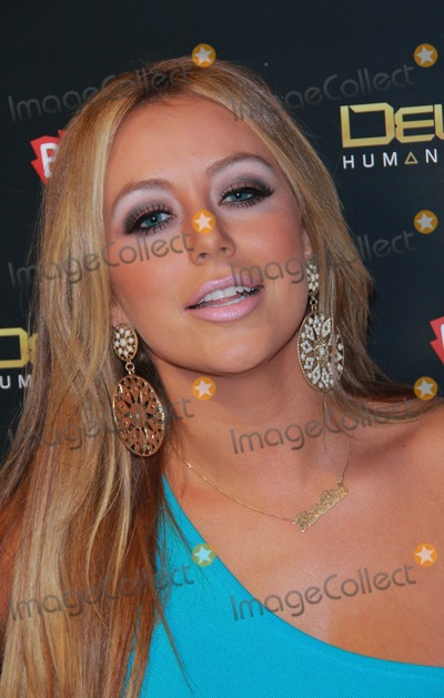Aubrey O'Day Photo - Aubrey O'day Deus Ex Human Revolution Gaming Launch Party Held at the Roxbury, Hollywood, CA. August 23- 2011. Photo: Tleopold/Globephotos