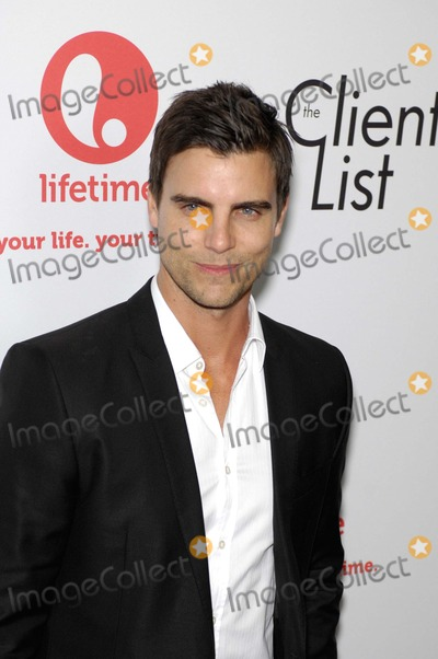 Colin Egglesfield Photo - Colin Egglesfield During the Red Carpet Launch of the New Series From Lifetime and Sony Pictures Television, the Client List, Held at the Sunset Towers Hotel, on April 4, 2012, in West Hollywood, California. Photo: Michael Germana - Globe Photos, Inc.