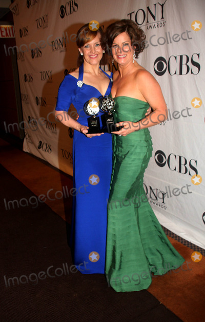 Alice Ripley, Marcia Gay Harden, Gay Harden Photo - The 63rd Annual Tony Awards Press Room at Radio City Music Hall in New York City on 06-07-2009. Alice Ripley and Marcia Gay Harden Photo by Barry Talesnick-iol-Globe Phtos, Inc. 2009