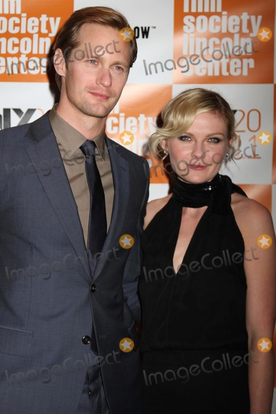"Kirsten Dunst, Alexander Skarsgaard Photo - The 49th Annual New York Film Festival Presents the Nyff Presentation of ""Melancholia"" Alice Tully Hall, NYC October 3, 2011 Photos by Sonia Moskowitz, Globe Photos Inc 2011 Alexander Skarsgaard, Kirsten Dunst"