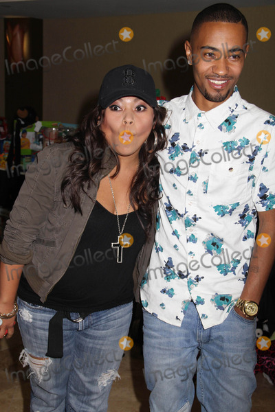 """Photo - """"Working Dreams"""" Annual Holiday Toy Drive Courtyard Marriott, Culver City, CA 12/22/2014 Josephine Roberto and Rey Reel Clinton H. Wallace/ipol/Globe Photos Inc"""