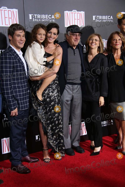 "Anne Hathaway, JoJo, Linda Lavin, Nancy Meyers, Robert De Niro, Adam DeVine, Ann Hathaway, The Interns, JoJo Kushner Photo - Adam Devine, Jojo Kushner,anne Hathaway,robert DE Niro,nancy Meyers, and Linda Lavin Attend the New York Premiere of ""the Intern"" the Ziegfield Theater, NYC September 21, 2015 Photos by Sonia Moskowitz, Globe Photos Inc"
