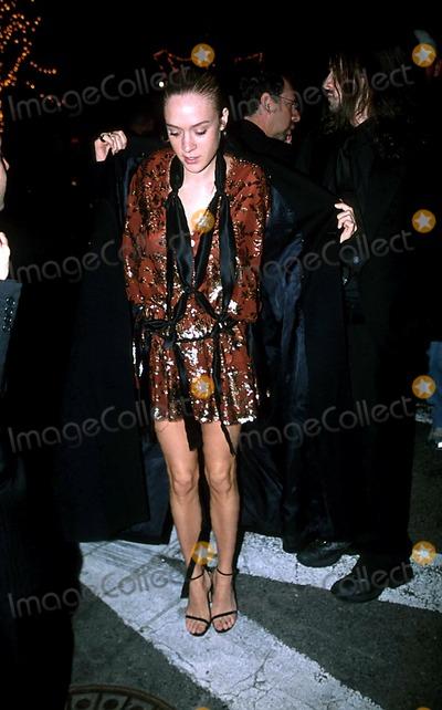 "Chloe Sevigny, John B Photo - Chloe Sevigny I7518jz ""Urban Cowboy"" Opening Night at Broadhurst Theatre in New York City 3/27/2003 Photo By:john B. Zissel/ipol/Globe Photos, Inc"