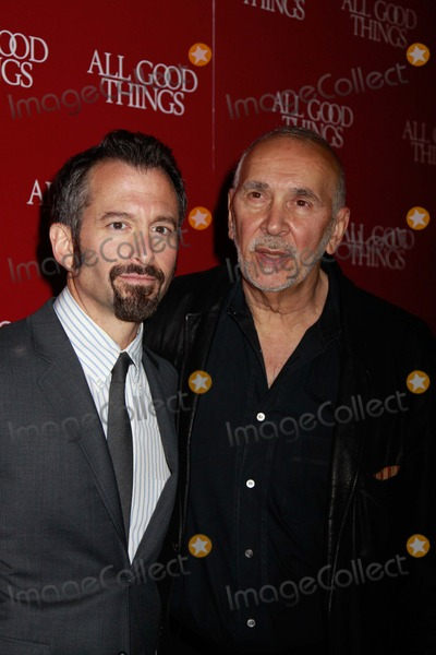 "Frank Langella, ANDREW JARECKI Photo - ""All Good Things"" New York Premiere Sva Theater, NYC December 1, 2010 Photos by Sonia Moskowitz, Globe Photos Inc 2010 Andrew Jarecki, Frank Langella"