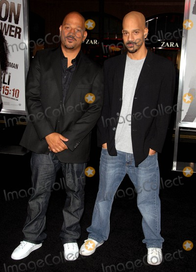 """Albert Hughes, Allen Hughes, Grauman's Chinese Theatre Photo - Allen Hughes, Albert Hughes attends the Los Angeles Premiere of """"the Book of Eli"""" Held at the Grauman's Chinese Theatre in Hollywood, California on January 11, 2010 Photo by: D. Long- Globe Photos Inc. 2009"""